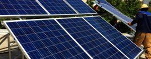 نیروگاه خورشیدی متصل به شبکه پارگ انرژی خلیج فارس
